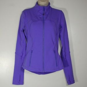 Lululemon FORME Power Purple Zip Up Jacket